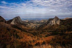 Altamica les roches Tuilière et Sanadoire Massif du Sancy