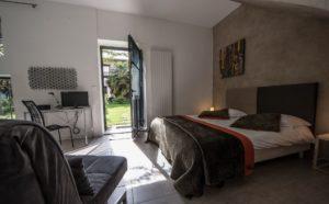 La chambre Epona de la Maison d'hôtes Altamica