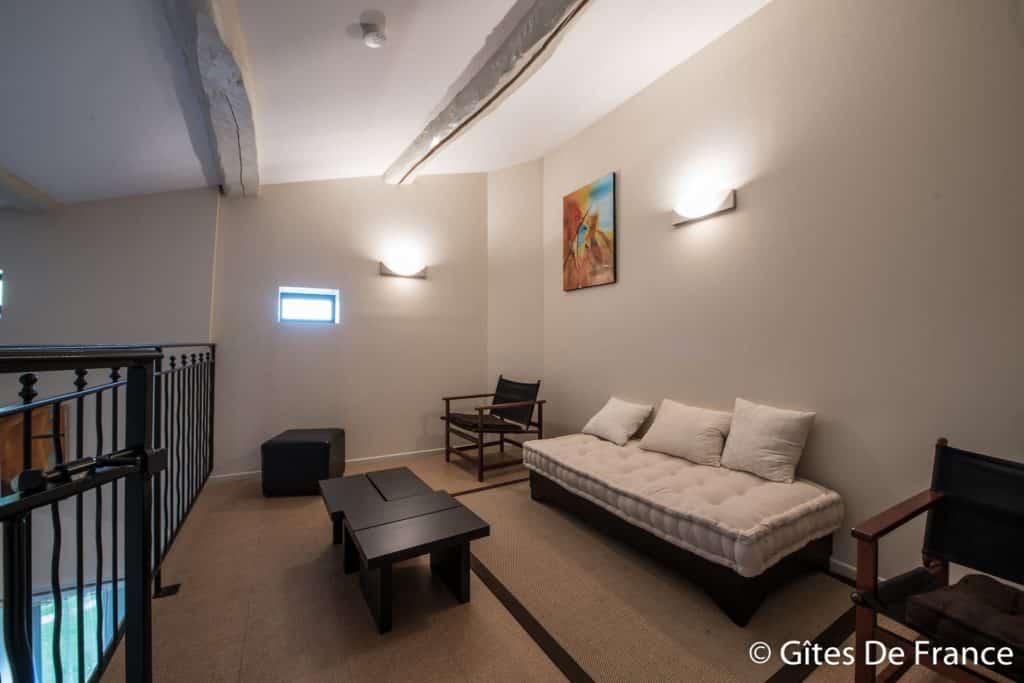 La mezzanine de la chambre Icare de la Maison d'hôtes Altamica