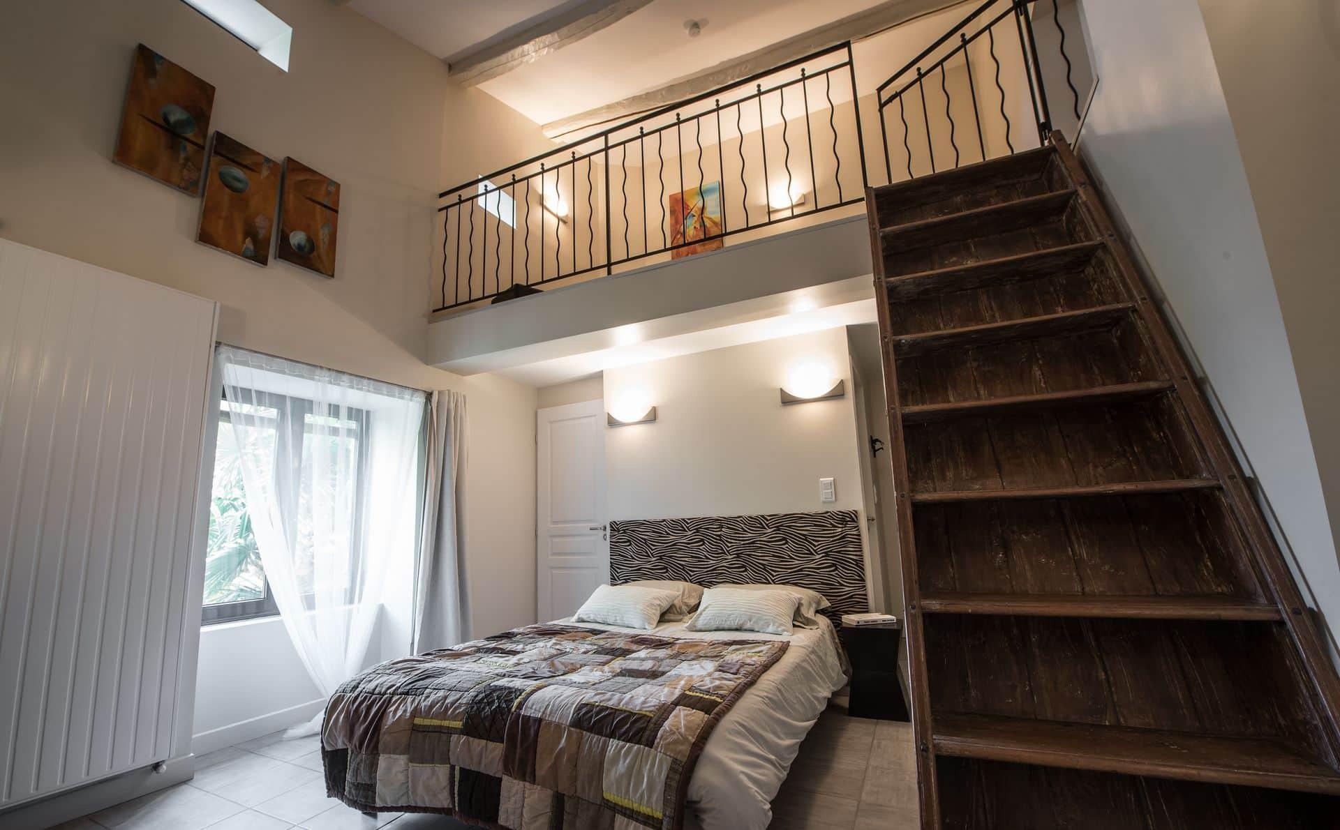 La chambre Icare de la Maison d'hôtes Altamica